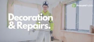 Decoration and repairs Framework