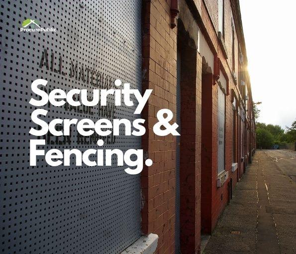 Security Screens & Fencing Framework